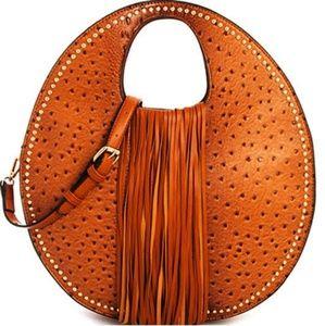 Circle tassel bag
